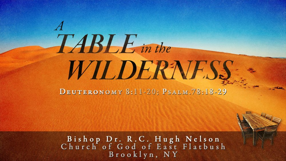 A Table in the Wilderness Image